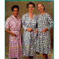 Drop Waist Back Snap Knit Dress