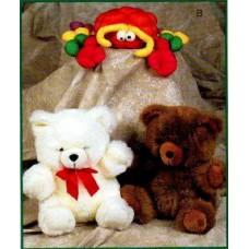 Large Stuffed Teddy Bears and Friends