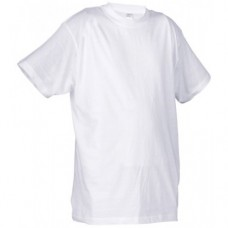 High-Quality White Crew Neck T-Shirts