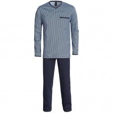 Mens V-neck Pajamas